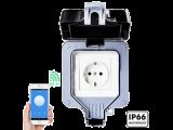 WiFi водоустойчив контакт за открит външен монтаж